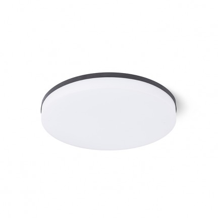 RENDL recessed light COIMBRA recessed black 230V LED 24W 3000K R12527 1
