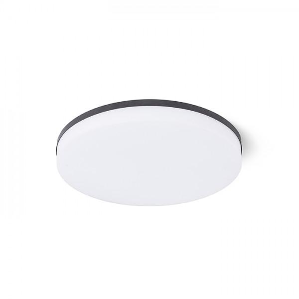 RENDL luminaire plafond COIMBRA encastré noir 230V LED 24W 3000K R12527 1
