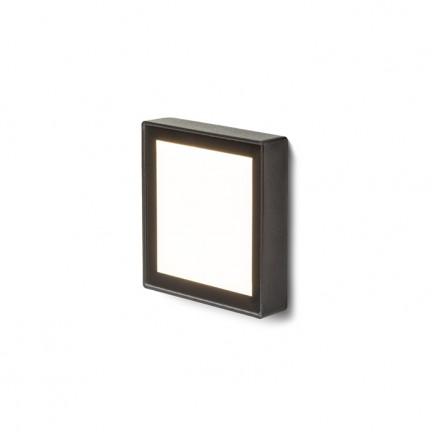 RENDL lumină de exterior DEJAVU SQ 9 incastrat negru 230V LED 3.5W IP65 3000K R12530 1