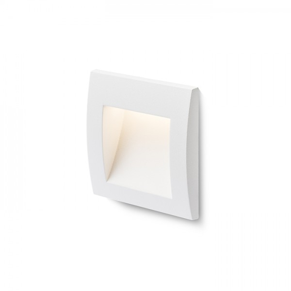 RENDL outdoor lamp GORDIQ S recessed white 230V LED 1.5W IP65 3000K R12533 1