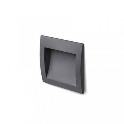 RENDL lumină de exterior GORDIQ M încastrat antracit 230V LED 3W IP65 3000K R12536 1