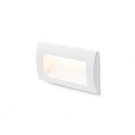 RENDL lumină de exterior GORDIQ L încastrat alb 230V LED 3W IP65 3000K R12537 1