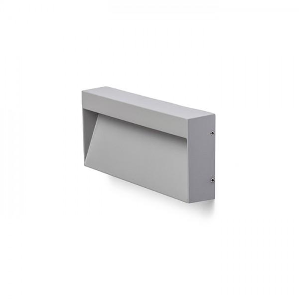 AQILA RC nástenná sivá  230V LED 6W IP54  3000K