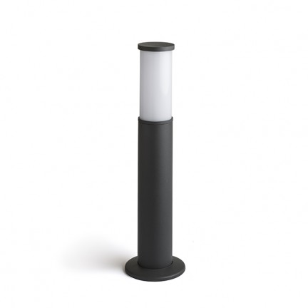 RENDL outdoor lamp GARRET 500 bollard anthracite grey 230V LED 15W IP65 3000K R12549 1