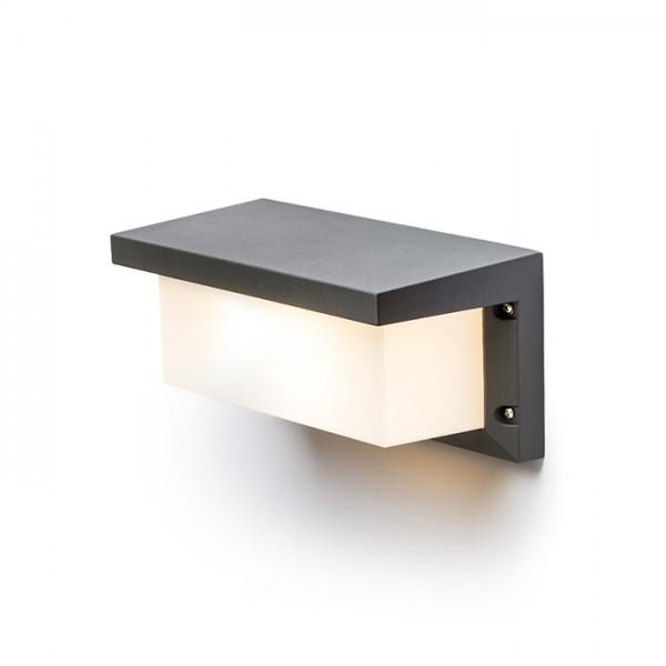 RENDL kültéri lámpa HIDE RC fali lámpa anrtracitszürke 230V E27 18W IP54 R12561 1