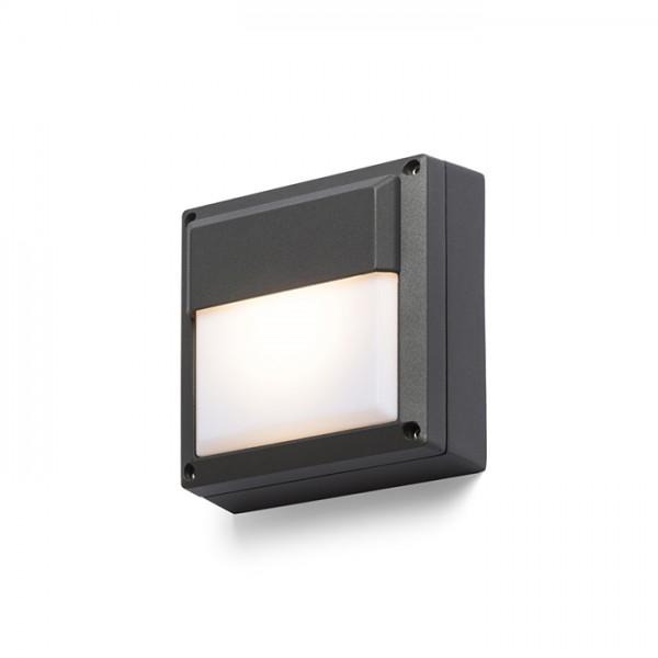 RENDL venkovní světlo DELTA 145 nástěnná antracitová 230V GX53 9W IP54 R12565 1