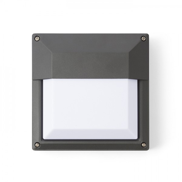 RENDL outdoor lamp DELTA 215 wall anthracite grey 230V E27 18W IP54 R12566 1