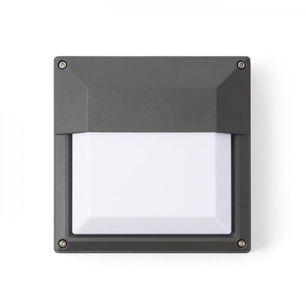 RENDL buiten lamp DELTA 215 wandlamp antracietgrijs 230V E27 18W IP54 R12566 1