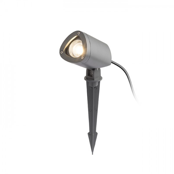 RENDL outdoor lamp COSMO on spike anthracite grey 230V LED 10W 24° IP65 3000K R12580 1