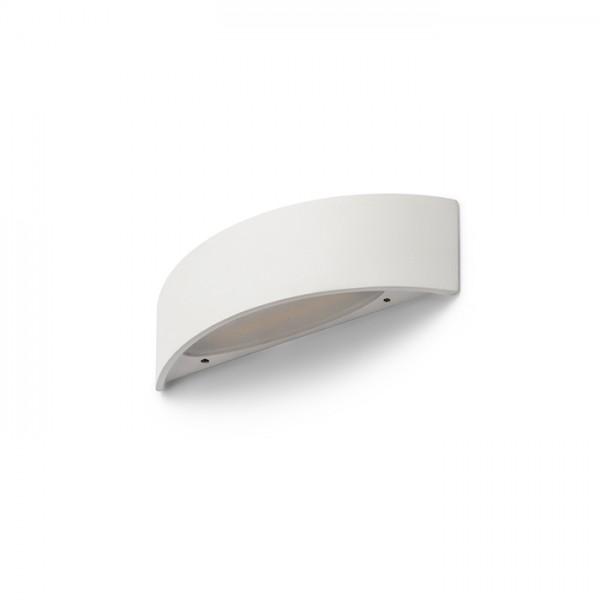 NAXOS nástenná biela  230V LED 6W  3000K
