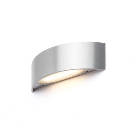 RENDL Wandleuchte NAXOS Wandleuchte Gebürstetes Metall 230V LED 6W 3000K R12591 1