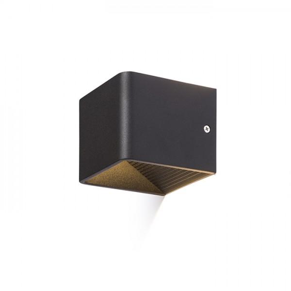 ONYX nástenná čierna  230V LED 5W  3000K