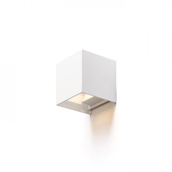 TITO SQ nástenná biela  230V LED 6W IP54  3000K