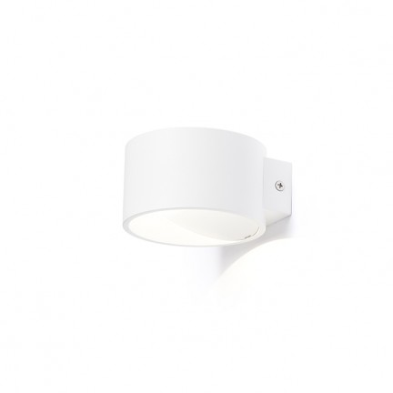 RENDL wall lamp BIARITZ wall white 230V LED 5W 3000K R12606 1