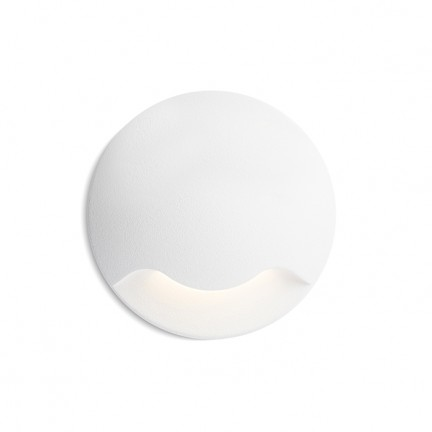 RENDL outdoor lamp KICK I recessed white 230V LED 1W IP54 3000K R12613 1