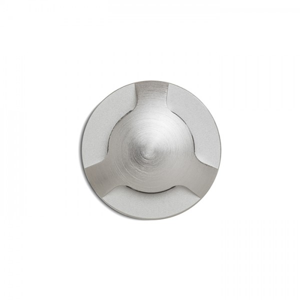 RENDL outdoor lamp KICK III recessed brushed aluminum 230V LED 3W IP54 3000K R12620 1