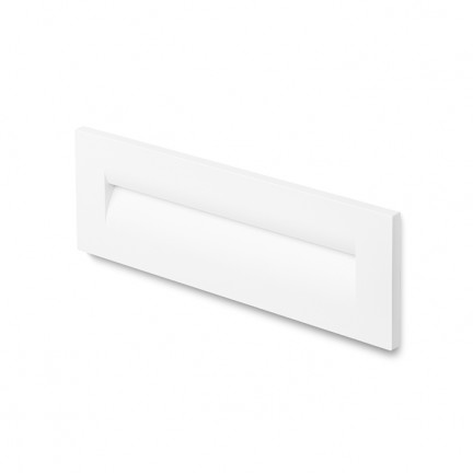 RENDL outdoor lamp RASQ wall recessed white 230V LED 8.5W IP65 3000K R12627 1