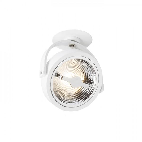 KELLY LED DIMM polozápustná biela  230V LED 12W 24°  3000K