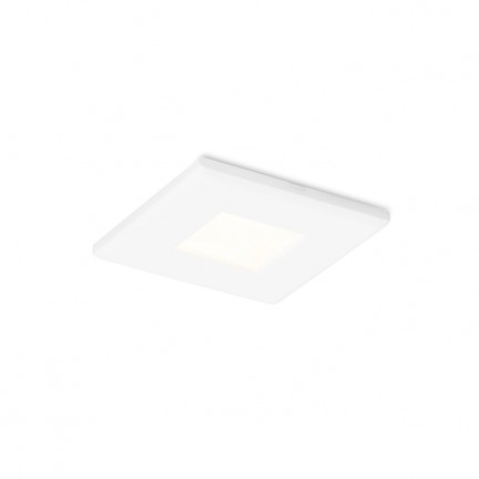 RENDL verzonken lamp INCA SQ wit 230V GU10 7W IP65 R12658 1