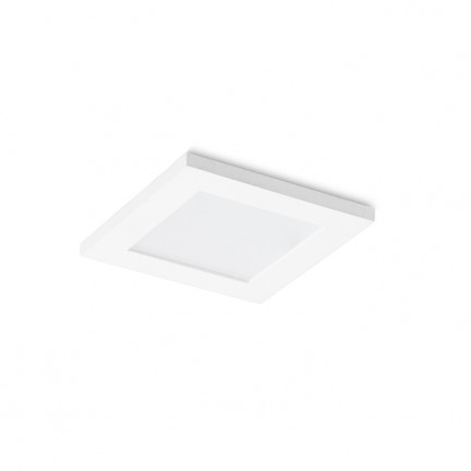 RENDL recessed light LEROY SQ white 12V GU5,3 35W IP44 R12660 1
