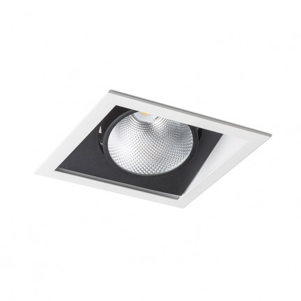 RENDL recessed light TOMBOY white/black 230V LED 25W 38° 3000K R12662 1