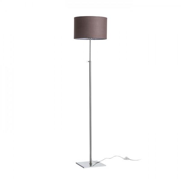RENDL floor lamp EDIKA floor brown matt nickel 230V E27 42W R12666 1