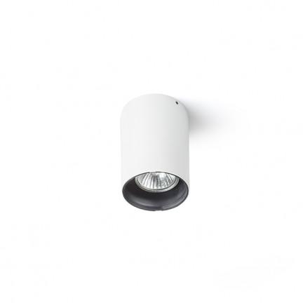 RENDL surface mounted lamp VADE R white/black 230V GU10 35W R12669 1