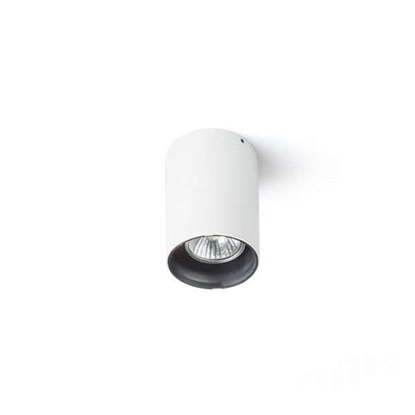 RENDL surface mounted lamp VADE R white/black 230V GU10 35W R12669 1