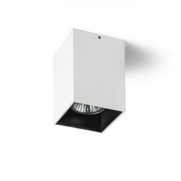 RENDL luminaire encastrable VADE SQ blanc/noir 230V GU10 35W R12671 1