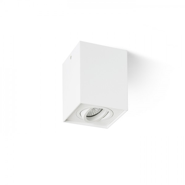 RENDL surface mounted lamp ENKI EDG I white 230V GU10 35W R12672 1