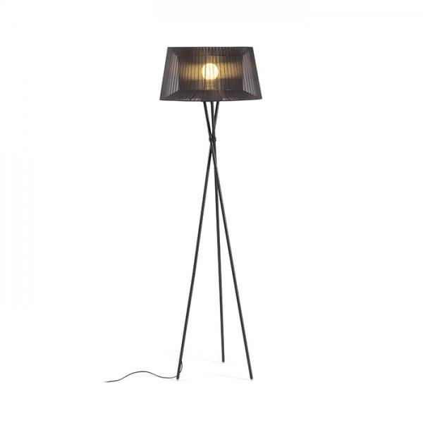 RENDL lampadaire BOULOGNE lampadaire noir 230V E27 28W R12674 1