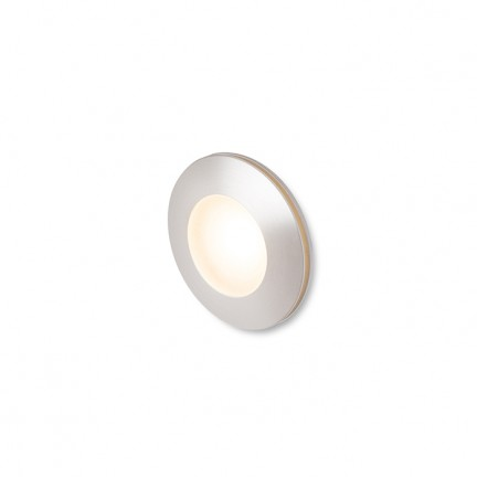 RENDL outdoor lamp CLUB recessed silver grey 230V LED 3W IP54 3000K R12685 1