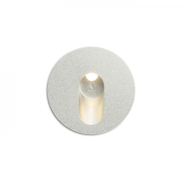 RENDL recessed light MEMPHIS R wall recessed silver grey 230V LED 3W 60° 3000K R12687 1