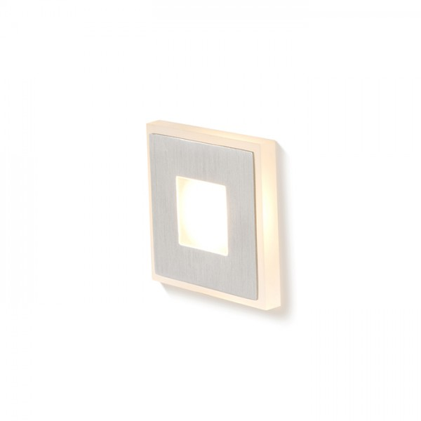RENDL recessed light DELINE silver grey 230V LED 3W 3000K R12689 1