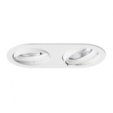 RENDL recessed light ZIZI II recessed white 12V G53 50W R12696 1