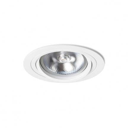 RENDL indbygget lampe PASADENA G53 R I hvid 12V G53 50W R12697 1
