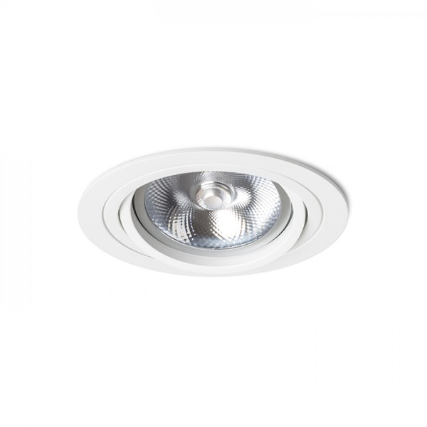 RENDL recessed light PASADENA G53 R I white 12V G53 50W R12697 1
