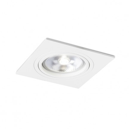 RENDL verzonken lamp PASADENA G53 SQ I wit 12V G53 50W R12700 1