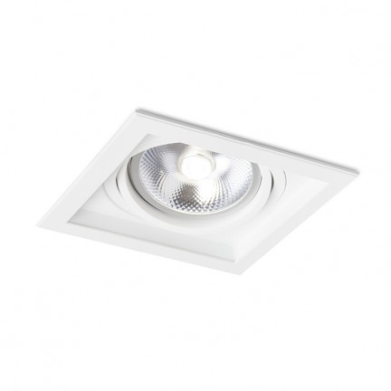 RENDL recessed light GRANADA SQ white 12V G53 50W R12707 1