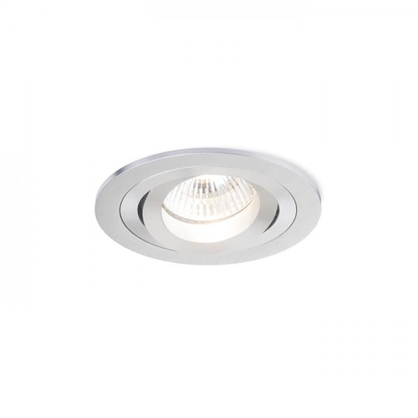 RENDL ugradno svjetlo PASADENA GU10 R ugradna brušeni aluminij 230V GU10 50W R12708 1