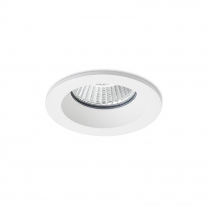 RENDL recessed light TOLEDO R white 230V LED 8W 60° IP44 3000K R12716 1