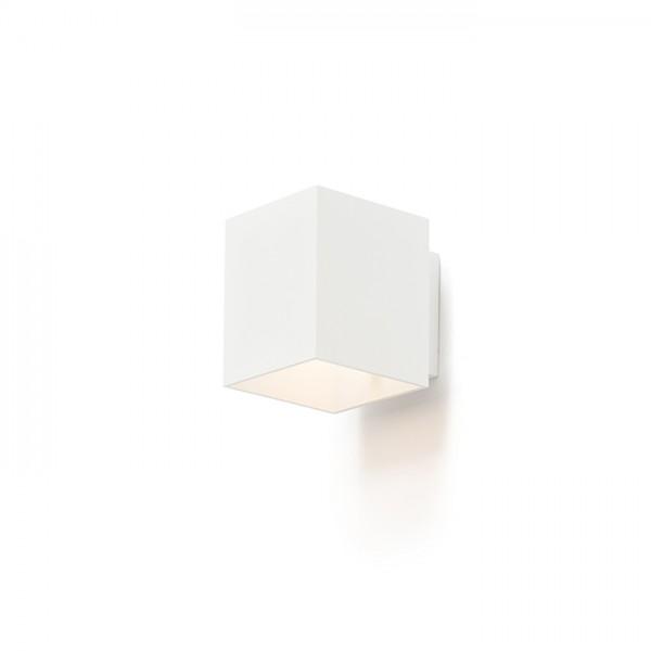 RENDL wall lamp TRIP SQ wall matt white 230V G9 33W R12741 1