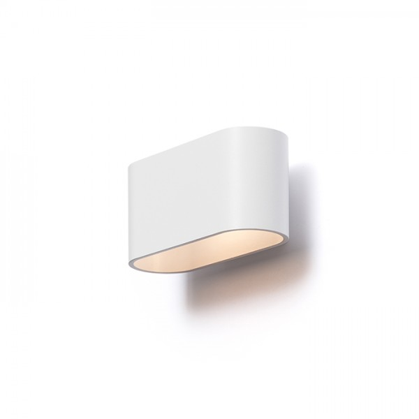 RENDL wall lamp MARIO matt white 230V G9 33W R12743 1
