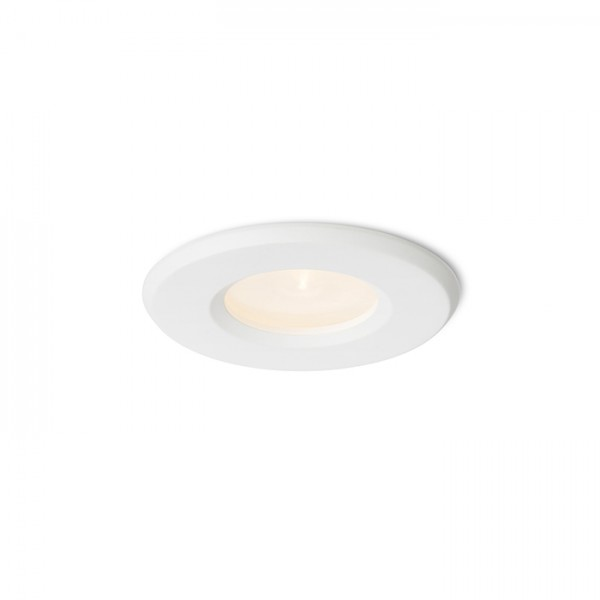 RENDL recessed light APRIORI white satinated glass 230V GU10 35W IP54 R12747 1