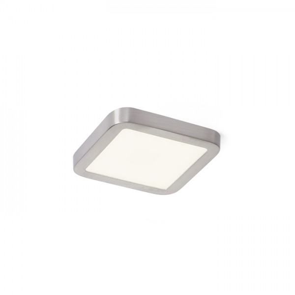 RENDL recessed light HUE SQ 9 recessed matt nickel 230V LED 6W 3000K R12778 1