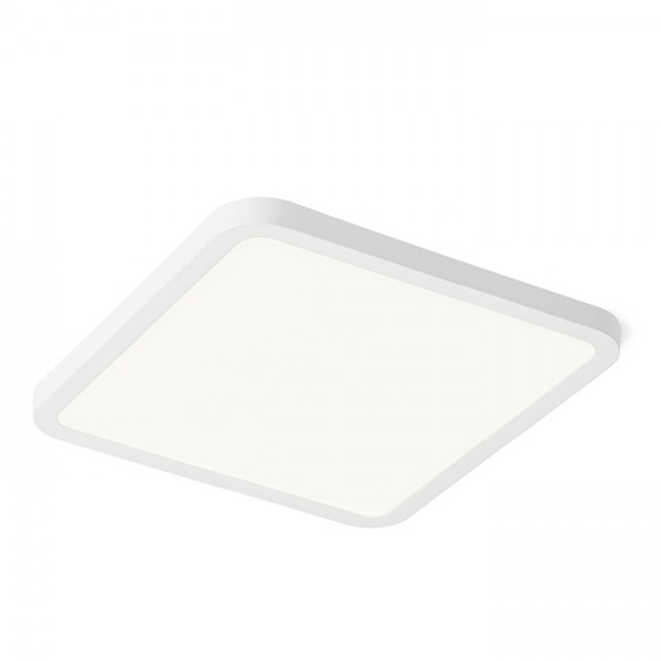 RENDL luminaire plafond HUE SQ 17 encastré blanc 230V LED 18W 3000K R12780 1