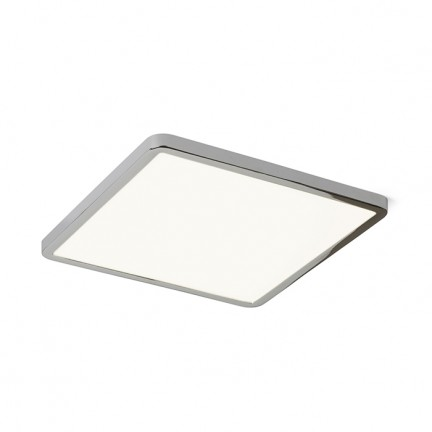 RENDL recessed light HUE SQ 22 recessed black chrome 230V LED 24W 3000K R12786 1