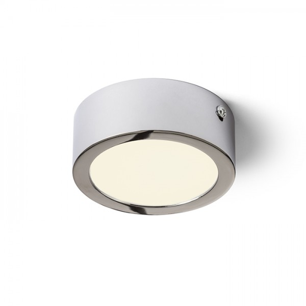 RENDL surface mounted lamp HUE R 9 ceiling chrome 230V LED 6W 3000K R12792 1