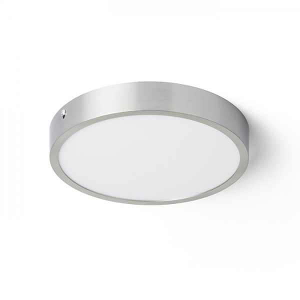 RENDL surface mounted lamp HUE R 22 ceiling matt nickel 230V LED 24W 3000K R12803 1