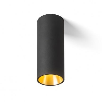 RENDL surface mounted lamp PEDRO ceiling black/gold 230V LED 25W 30° 3000K R12820 1
